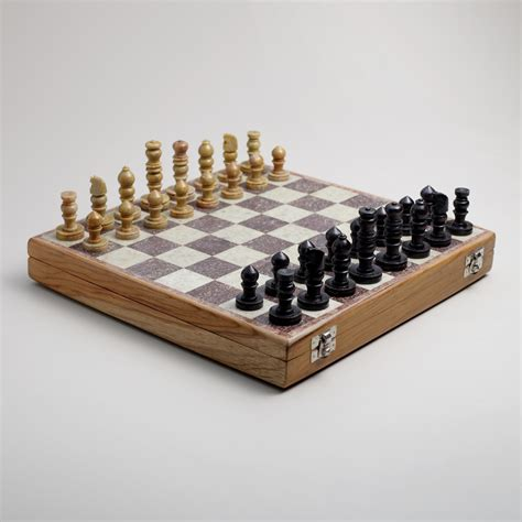 Soapstone Chess Pieces soapstone chess set world market