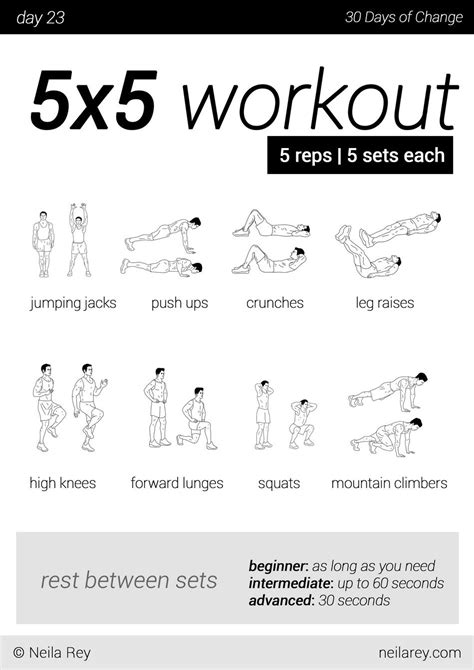 30 day workout plan for men at home no equipment 30 day workout program workout programs