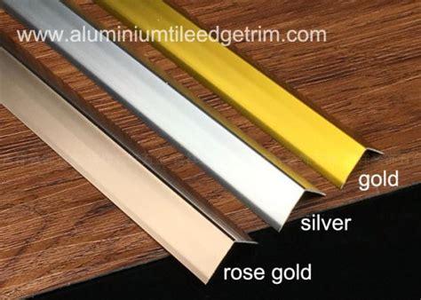 sleek anodized aluminium corner guard wall tile corner