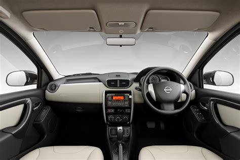 nissan terrano india interior nissan terrano amt now on sale in india at inr 13 75 lakh