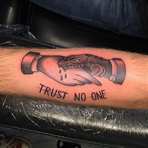 trust none tattoo 26 tremendous arm for all the picsmine