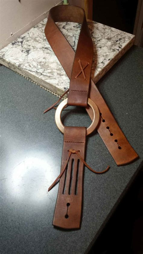 Handmade Leather Guitar Straps - handmade leather guitar duane allman replica reverb