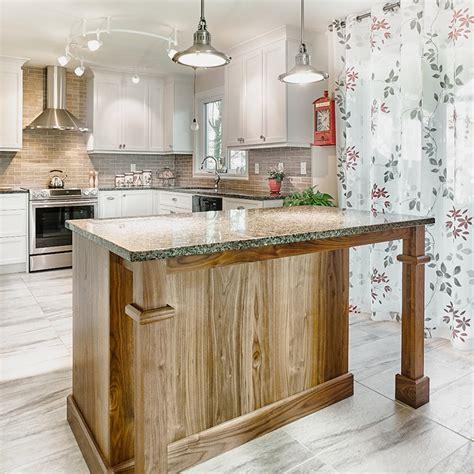 ilot de cuisine en bois cuisines beauregard cuisine r 233 alisation 356 armoires