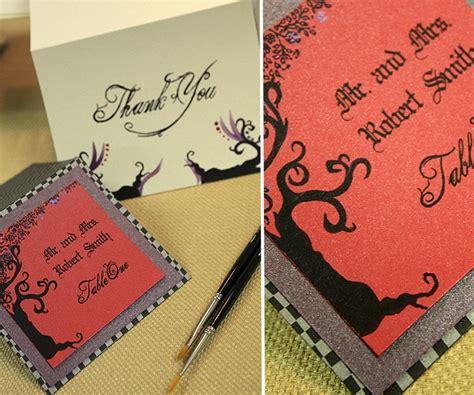 tim burton wedding invitations tim burton wedding invitations www imgkid the