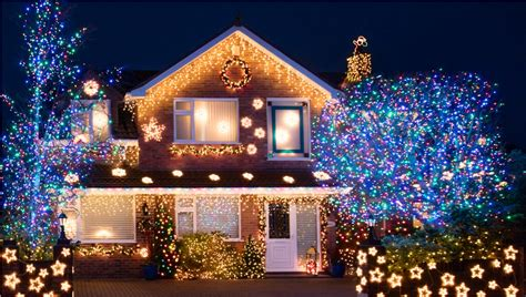 exterior holiday light ideas lights decoration ideas inspirationseek