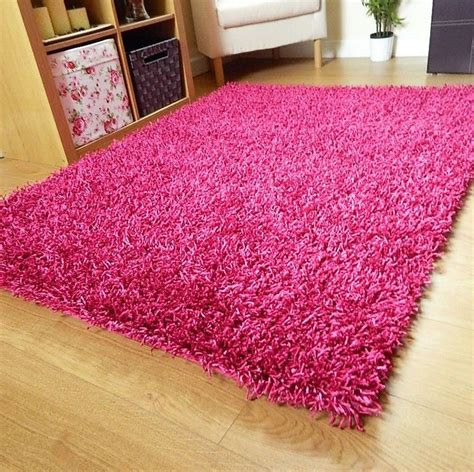 Cheap Kids Area Rugs Small Large Pink Rug Cerise Runners Sparkle Modern Thick