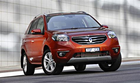 renault jeep renault koleos privilege diesel joins suv line up photos