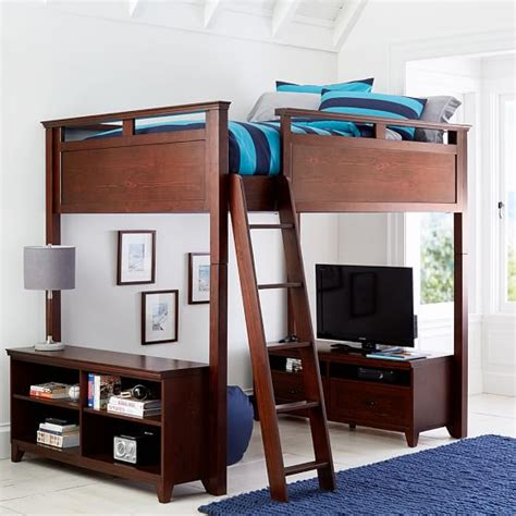 pbteen loft bed hton convertible loft bed pbteen