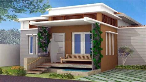 gambar warna cat depan rumah aristek sederhana