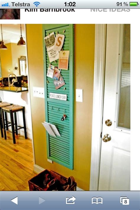 kitchen notice board craft