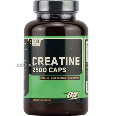 q es la creatina creatina 2500 optimum nutrition 100 capsulas