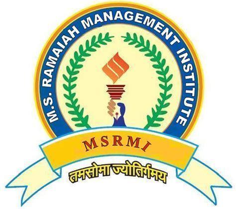 Pesit Bangalore Mba Fee Structure by Ms Ramaiah Academy Of Management