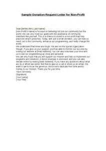 Donation Letter Non Profit Sle Donation Request Letter For Non Profit Hashdoc