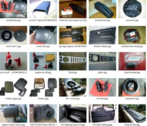 Karpet Jimny Katana products list garasi aksesoris jimny