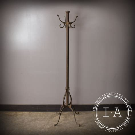 Antique Standing Coat Rack by Vintage Industrial Antique Cast Iron Coat Rack Tree