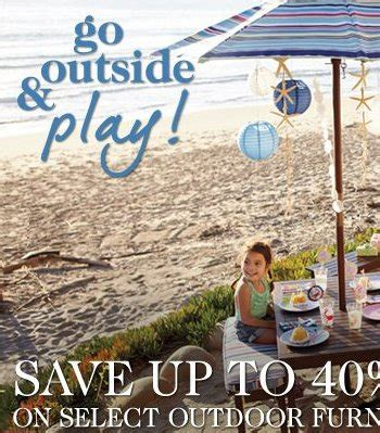 Coupon Pottery Barn Kid Shop Pottery Barn Kids Summer Time Sale Online Shopping