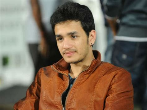 actor nagarjuna son akhil nagarjuna younger son akkineni akhil tollywood sign