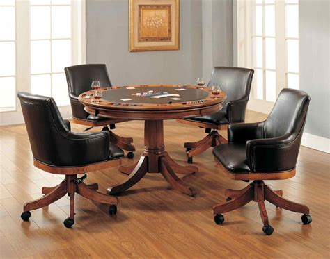 dining room table and chairs with wheels datenlabor info