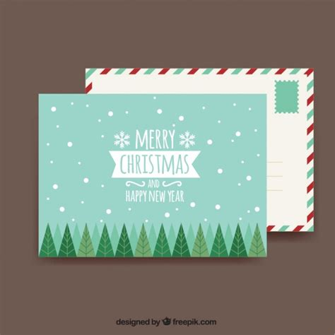 decorative cards and envelopes christmas card and decorative envelope vector free download