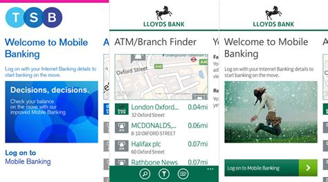 lloyds banking mobile in light of the split lloyds and tsb release mobile