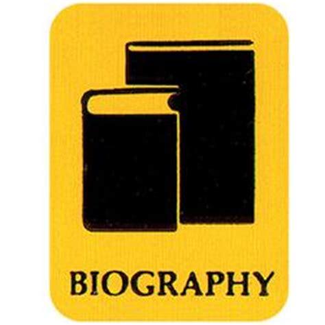 biography genre labels brodart biography classification symbol labels 250