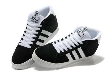 Sepatu Adidas Neo Sneaker High Suede cheap adidas neo suede mens womens shoes q38622 1 high tops black white trainers zero profit