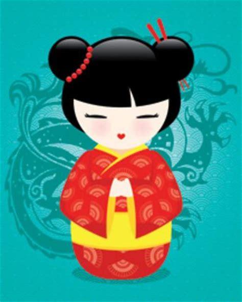 imagenes de japonesas muñecas mu 241 eca japonesa kokeshi de color pop iii l 225 minas por