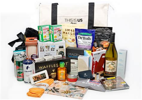 Win A 800 Vip Goodie Bag by Win It A This Is Us Vip Gift Bag Extratv