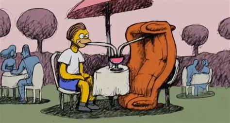 homer divano la dura vita divano di homer il post