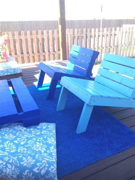 4 steps to make pallet patio set pallet furniture diy