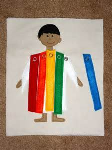 joseph and the coat of many colors joseph another page for busy book this bible