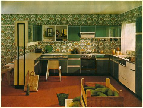 Western Kitchen Cabinets super seventies a 1970s kitchen is not complete without