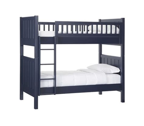 c twin over twin bunk bed pottery barn kids