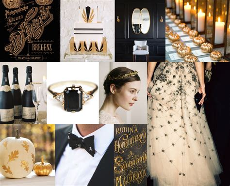 wedding themes gold and black board 570 gilded halloween snippet ink snippet ink