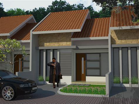 design eksterior rumah tipe 36 model perumahan minimalis