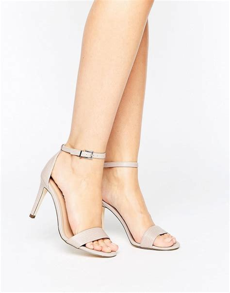 sandals with springs call it ahlberg blush two part heeled sandals in