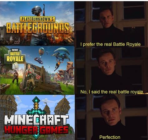 fortnite vs pubg meme where it all started pubg fortnite minecraft steemit