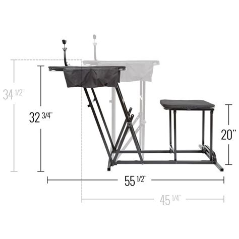 shooting bench dimensions portable shooting bench with gun rest by kill shot ks sbp discount rs