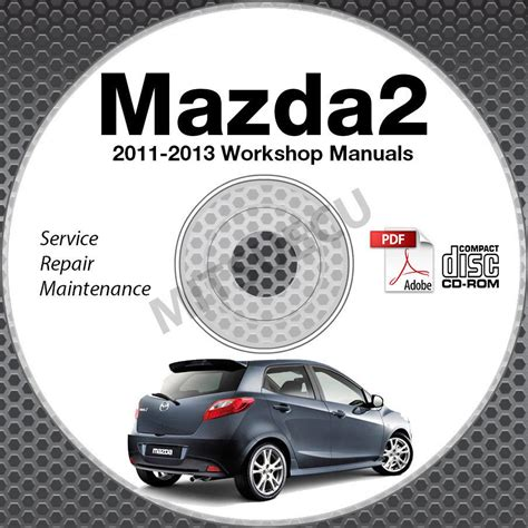 service repair manual free download 2012 mazda mazda2 head up display 2011 2013 mazda2 service manual repair cd rom 2012 workshop