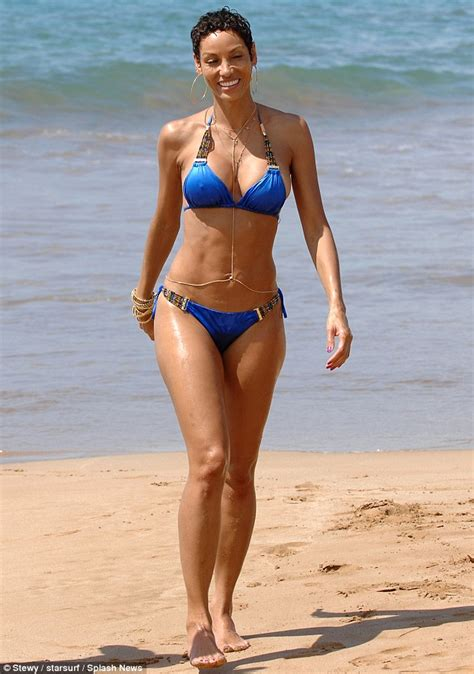 wives in hot swim suits like a goddess eddie murphy s ex wife looks super sexy in