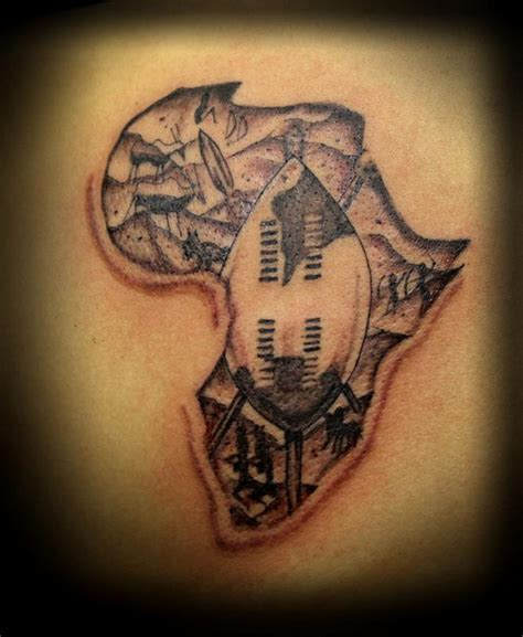 african continent tattoo designs map tattoos page 5
