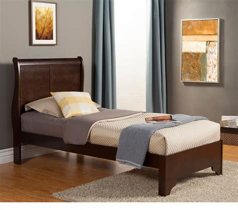 dreamfurniture west low footboard sleigh bed