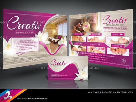 deluxe photo card templates deluxe spa flyer business card templates flickr
