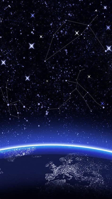 constellation space smartphone wallpapers hd getphotos