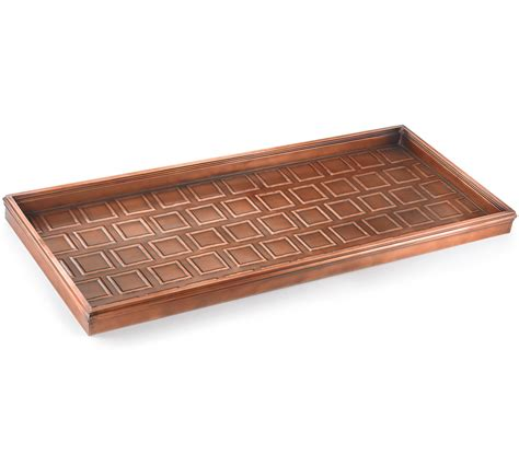metal boot tray metal boot tray bronze in boot trays
