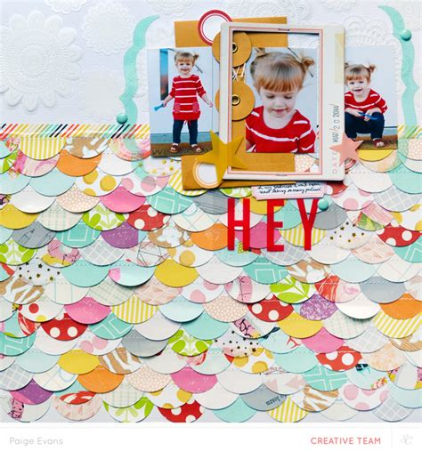 scrapbook addon tutorial blog scalloped border layout tutorial paige evans