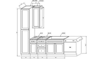 average kitchen cabinet depth kitchen cabinets dimensions
