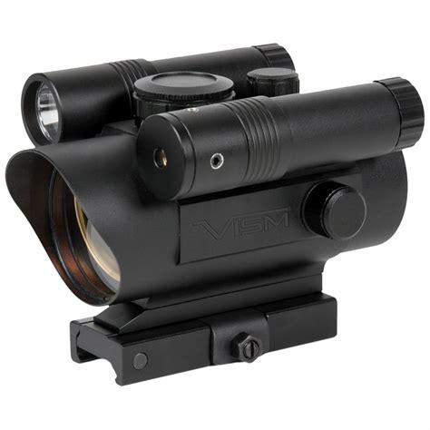 red dot laser light combo vism by ncstar red dot green laser flashlight combo