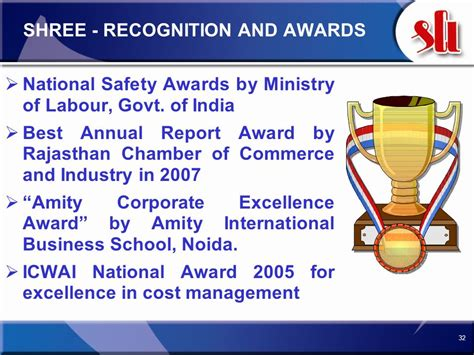 Amity Mba Recognition by Among The Top 10 Cement Producers In India Ppt