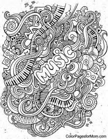 doodles 62 advanced coloring page